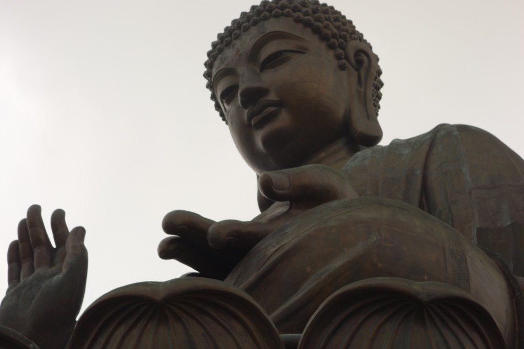 Tian Tan Buddha (aka Big Buddha)—world's tallest outdoor bronze seated Buddha