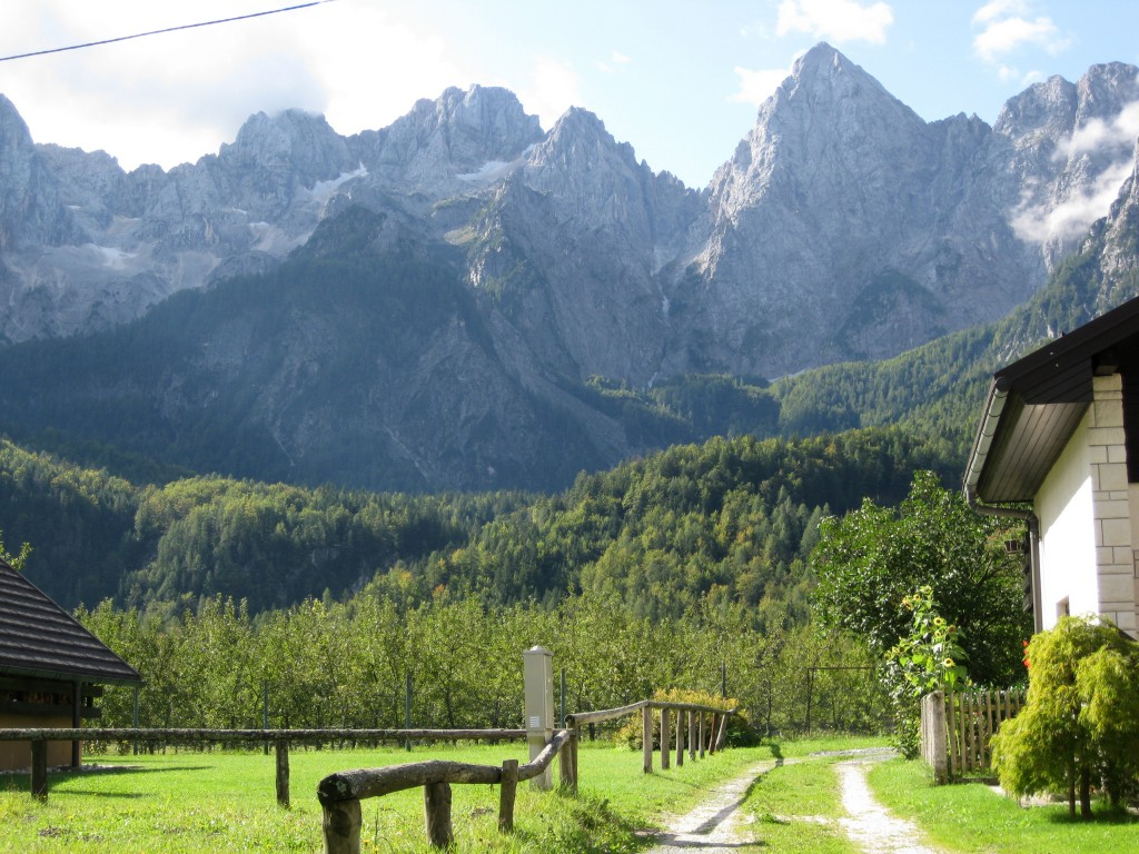 The jagged and imposing Julian Alps