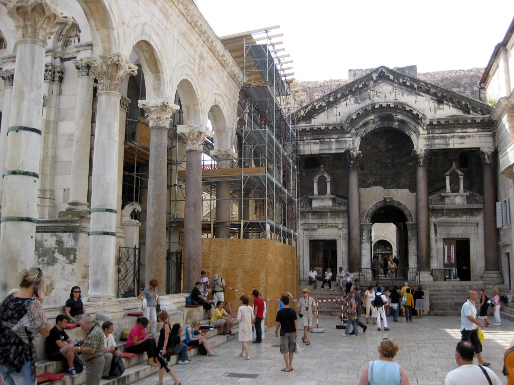 Peristyle—main square of Diocletian's Palace