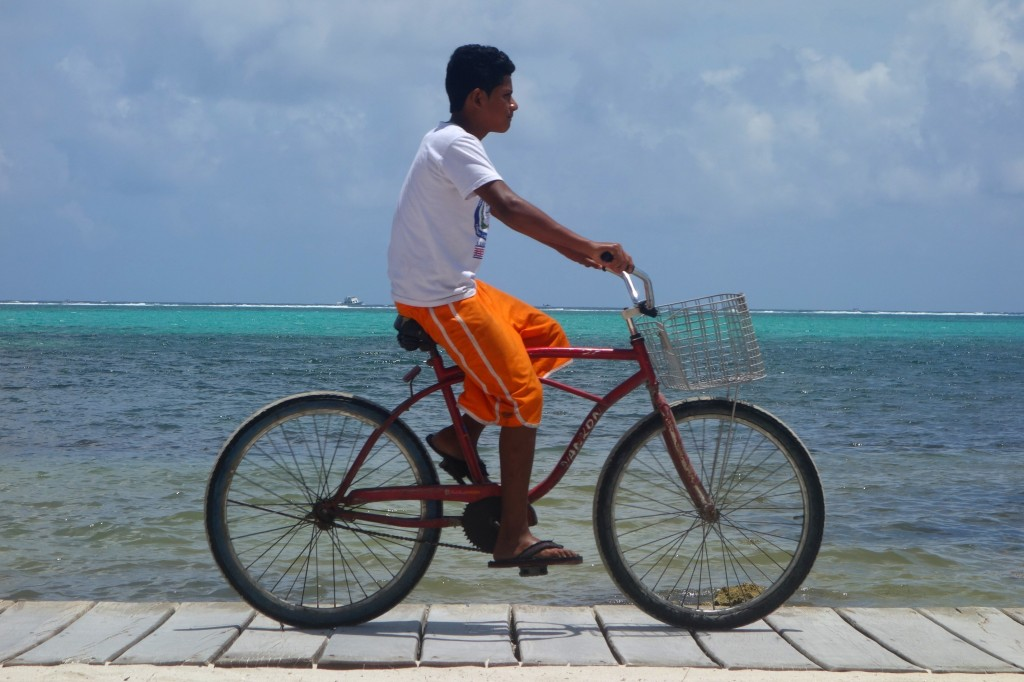 Belizeans just love their bicycles... ...watching the locals ride them was my favorite pastime